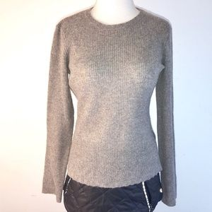 JAMES PERSE brown CASHMERE Sweater 1 small